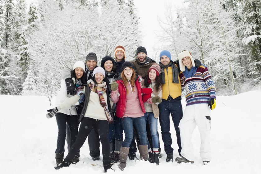 スキー仲間の画像